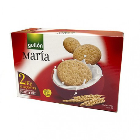 Galleta Maria CJ 2Kg Gullon