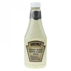Salsa Creamy Black Pepper Ranch Heinz