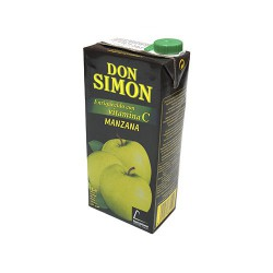 Zumo Manzana Brick 1lto Don Simon