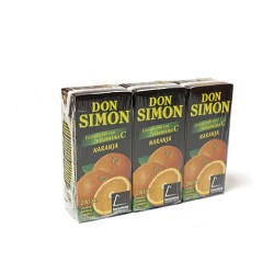 Zumo Naranja pack de 3und (200Ml/und) Don Simon